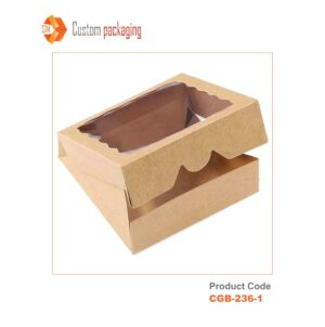 Pie Boxes with Window