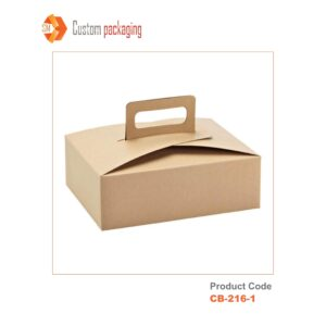 Cardboard Boxes with Handle