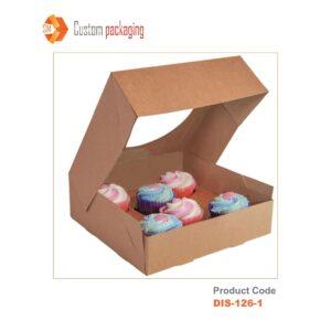 Pie Box with Window