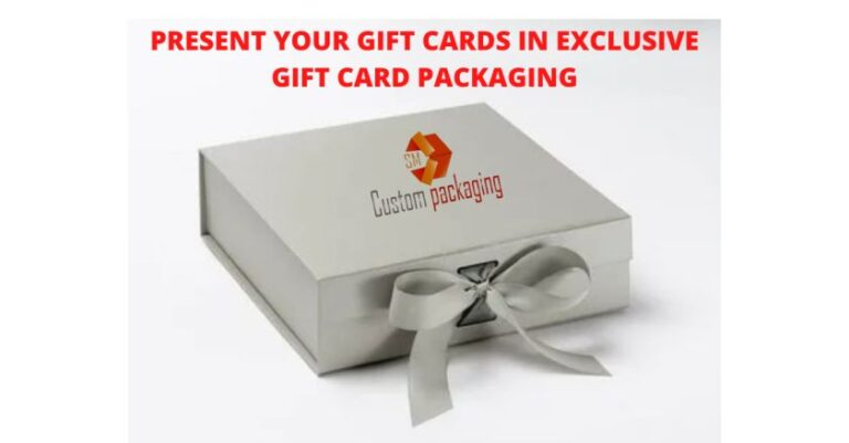 Read more about the article PRESENT YOUR GIFT CARDS IN EXCLUSIVE GIFT CARD PACKAGING